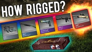 How Rigged Is The Cobblestone Case? (CSGO Skins) Video