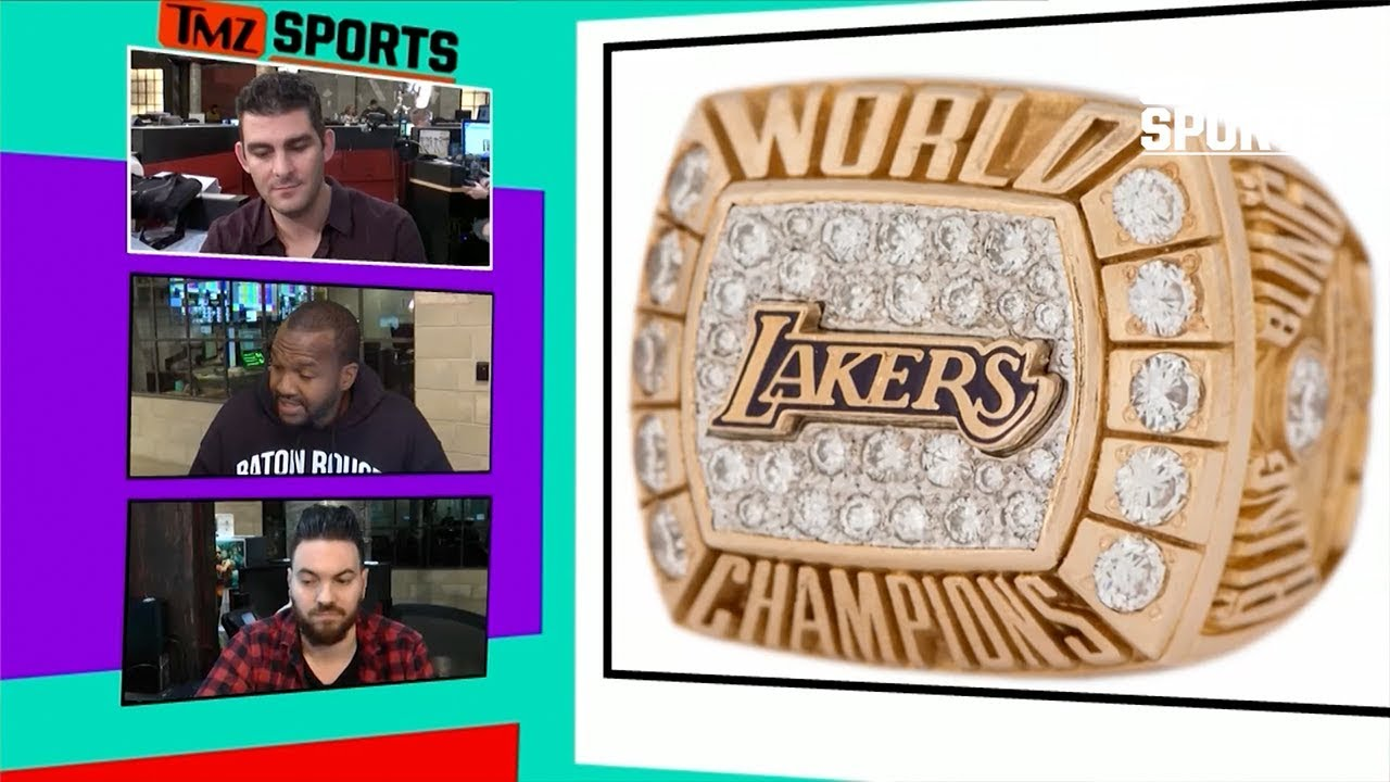 6193a9e0ec85 Die Hard Lakers Fan Is Selling Kobe Bryant s Championship Rings ...