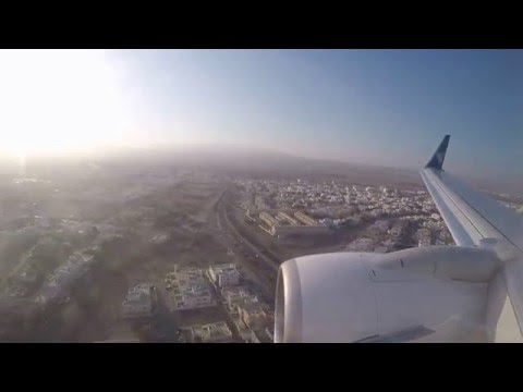 Oman Air Dubai (DXB) to Muscat (MCT) Full Flight