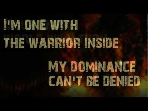 Disturbed - Warrior with Lyrics - REMAKE