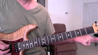 Hold on Loosely (.38 Special ) Guitar lesson Solo