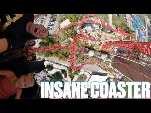 SIX-YEAR-OLD GIRL CONQUERS MrBEAST'S #1 RANKED MOST INSANE ROLLER COASTER IN THE WORLD!