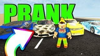 TROLLING SUPER CARs mit MAXED CHEVY CAMERO in VEHICLE SIMULATOR! (Roblox)