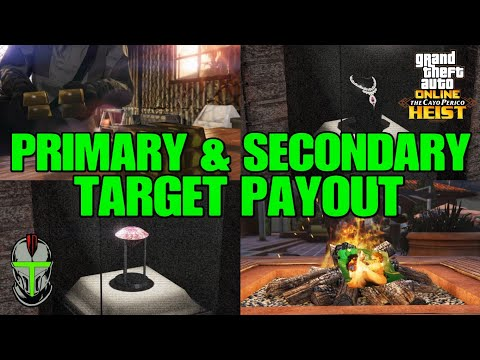 All Primary and Secondary Target Payout MAX PROFIT Cayo Perico HEIST