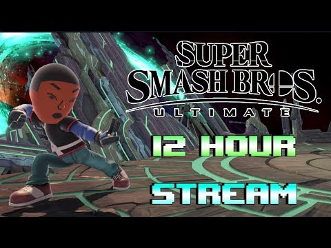 🔴 Live - Super Smash Bros. Ultimate - 12 Hour Stream thumbnail