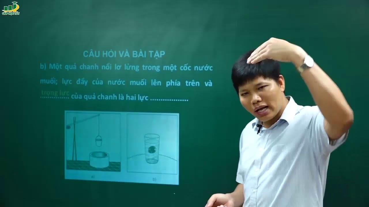 Vật Lý Lớp 6 – Bài giảng Trọng lực. Đơn vị lực | Thầy Trần Văn Huỳnh