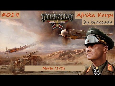 #19 | Panzer Corps | Afrika Korps - Malta (1/3)
