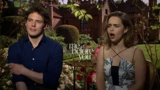 Emilia Clarke & Sam Claflin Cry Together and Get Emotional On The Set of ME BEFORE YOU