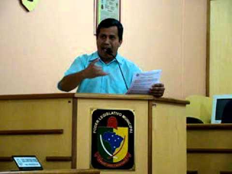Pronunciamento Vereador Jeremias Oira - sessão dia 1410