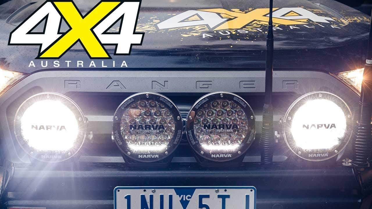 Narva Ultima 180 LEDs light up our Ranger | 4X4 Australia