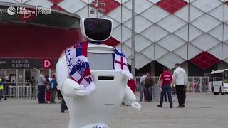 Робот Алантим   лучшая защита болельщиков