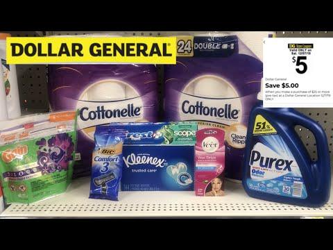 Dollar General $5/$25 // Saturday Dec.7th ON:Y
