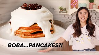 I Recreated The Viral Boba Pancakes From Taiwan • Tasty