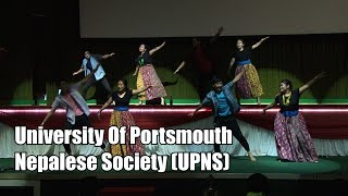 University Of Portsmouth Nepalese Society 6th Inter-Uni Nepalese Dance Competition, UK 2018)
