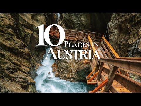10 Beautiful Places to Visit in Austria  🇦🇹    Austria Travel Guide
