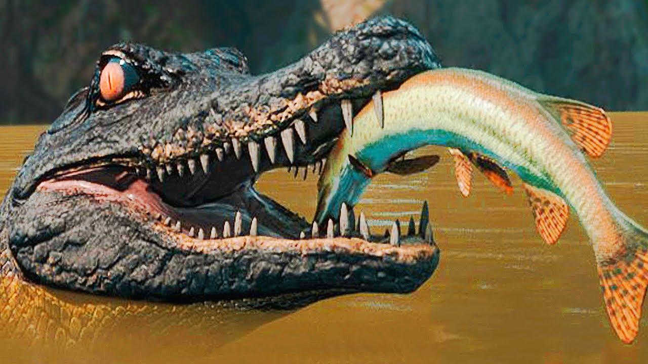Download Super Predador! A Jovem Deinosuchus + Grande Pescaria! Armadilhas | The Isle Evrima | (PT/BR)