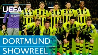Borussia Dortmund UEFA Champions League quarter-final goals