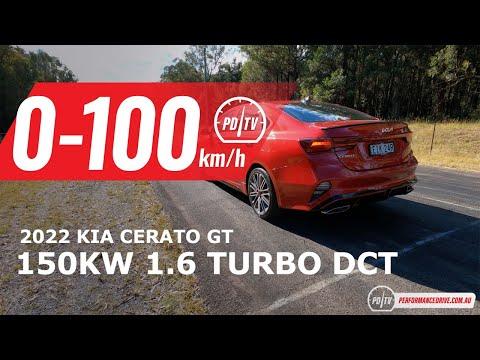 2022 Kia Cerato GT 0-100km/h & engine sound