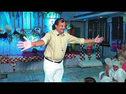 shree shanti gurudev mandoli wale ...video by jain events song by  shubhash porwal