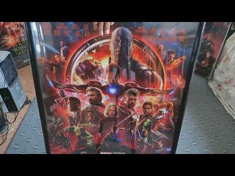 Avengers Infinity War Poster (Poster Framing Video)