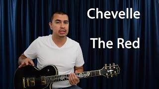 Guitar Lesson Chevelle The Red Main Riff
