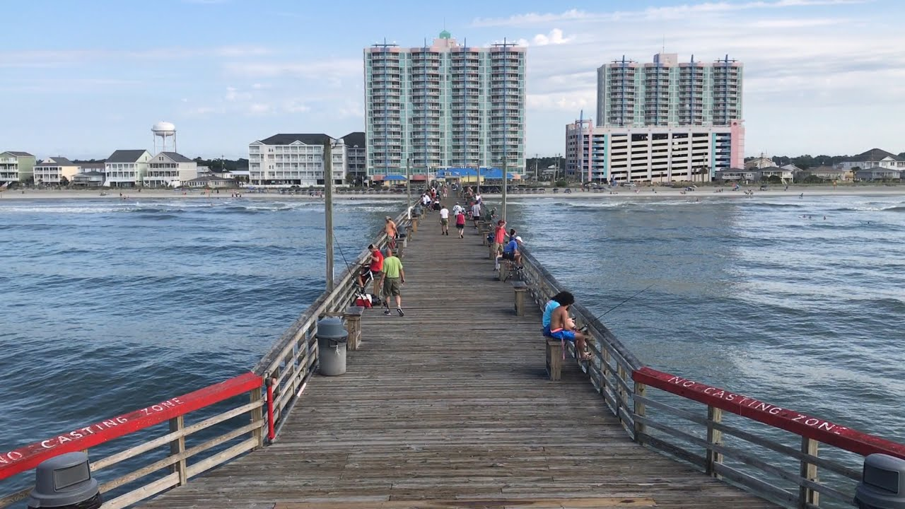 Cherry Grove Pier North Myrtle Beach Attractions You