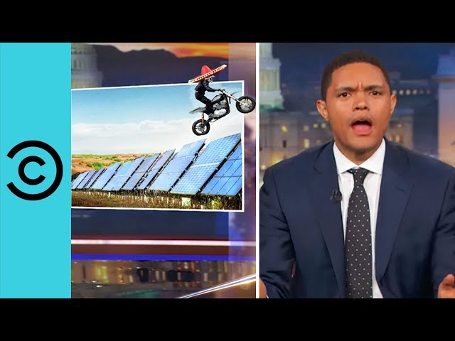 Trump Reveals His Bright Idea - The Daily Show | Comedy Central