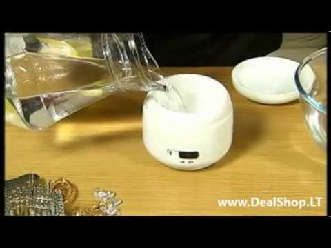 Ultrasonic Jewellery Cleaner - Juvelyrinių dirbinių valymo prietaisas įrenginys