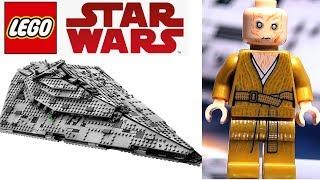 Обзор LEGO Star Wars Сноук и Звездный разрушитель Первого Ордена 75190