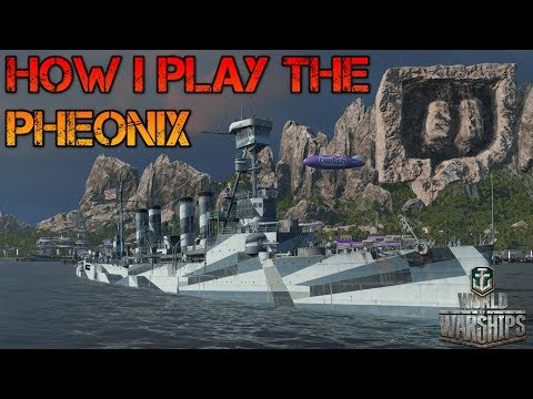 World of Warships - How I Play The Phoenix
