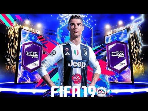 -FIFA19 ON RÉCUPÉRE LE PACK TWITCH PRIME !