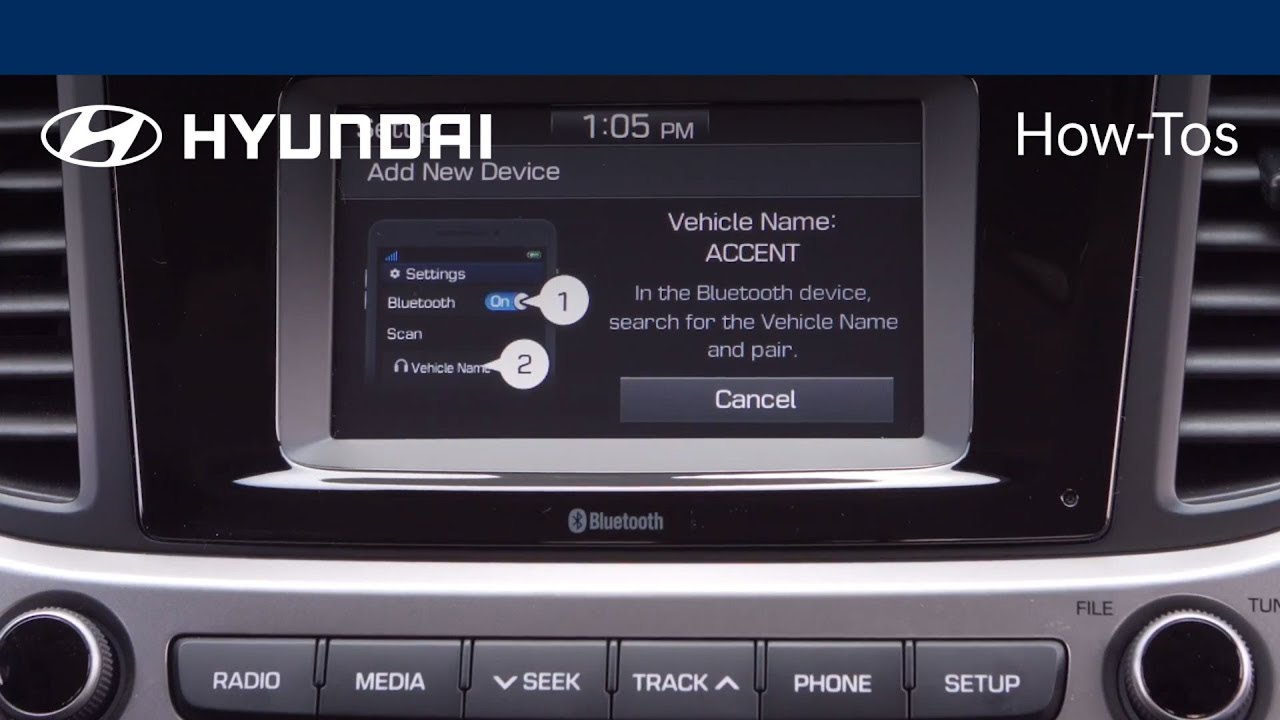 How to Use Google and Siri voice commands with Bluetooth | 2018 Hyundai