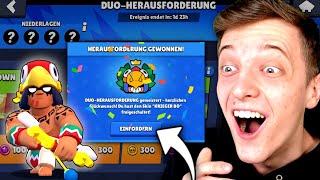 12 SIEGE + KRIEGER BO SKIN BEKOMMEN?! 😍 DUO HERAUSFORDERUNG! 🏆 Brawl Stars deutsch