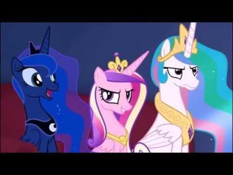 картинки принцесс пони под музыку