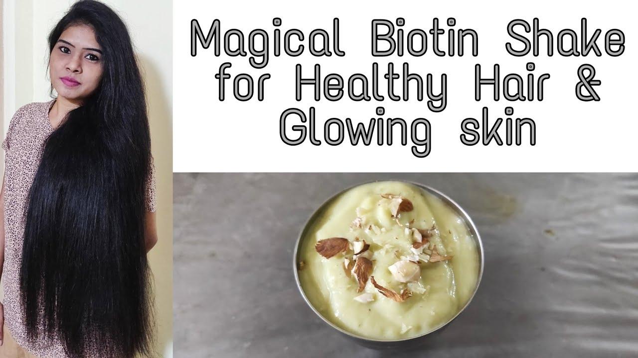 ஆரோக்கியமான கூந்தலுக்கும், பொலிவான சருமத்திற்கும் Easy DIY Biotin Drink | Tamil | VINI'S HAIR CARE