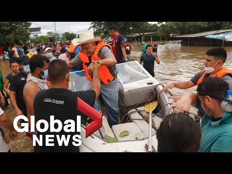 Hurricane Iota: Nicaragua hit by 2nd hurricane in 2 weeks