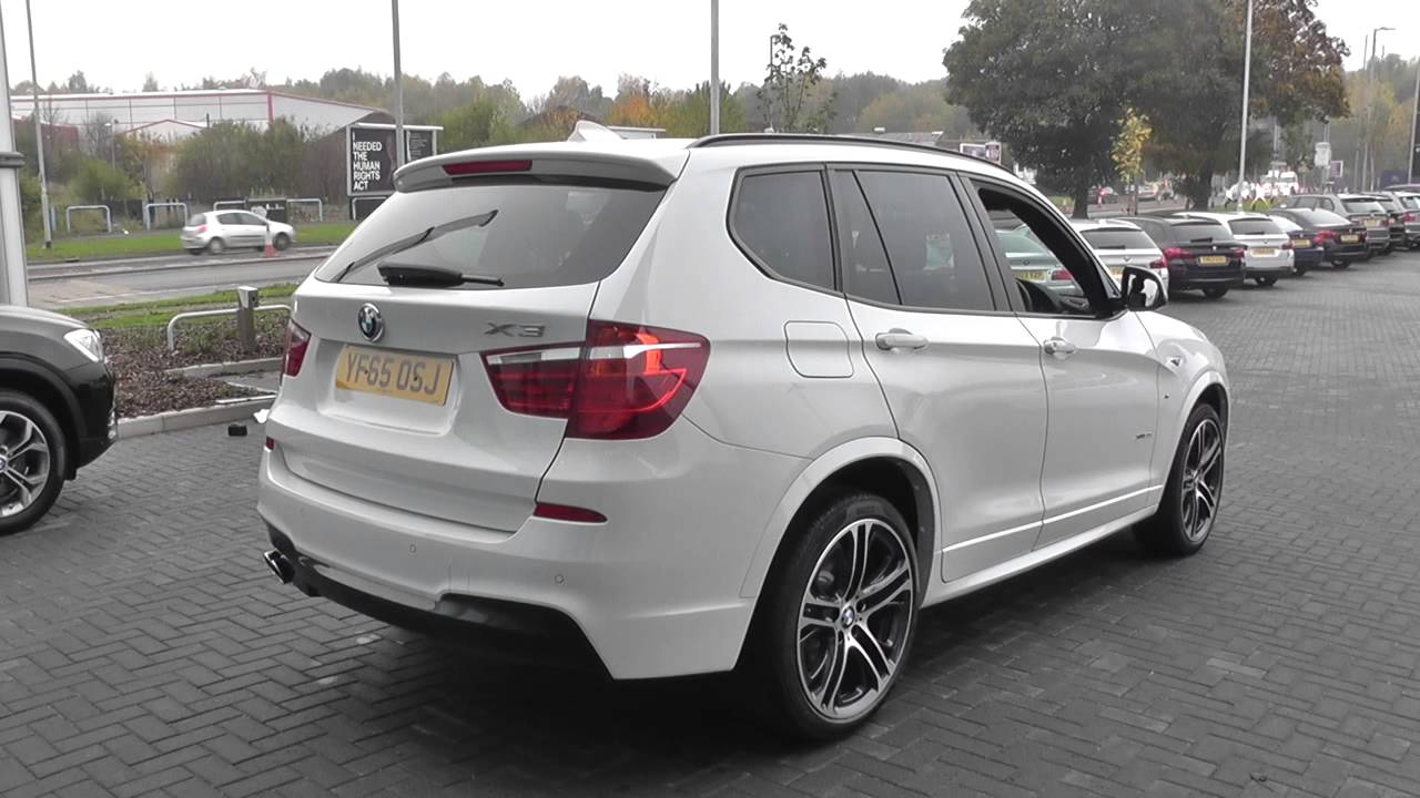 bmw x3 xdrive30d m sport 5dr step auto u6353 youtube. Black Bedroom Furniture Sets. Home Design Ideas