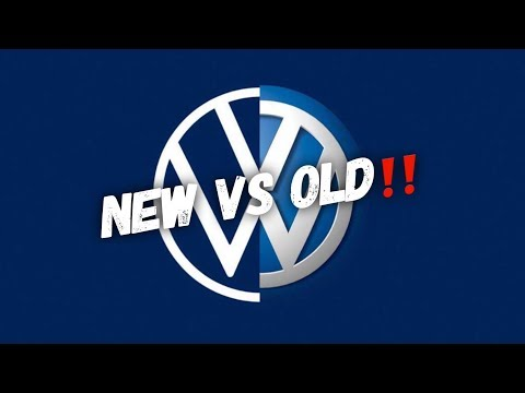Say Hello To The Brand New Volkswagen Logo!