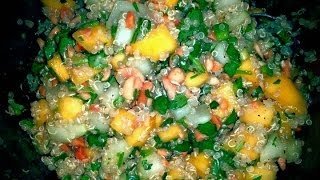 Mango Quinoa Thai Salad Recipe- Become Your Own Favorite Chef With Amy Westerman