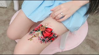 Sailor Moon Tattoos All over My Body! More!