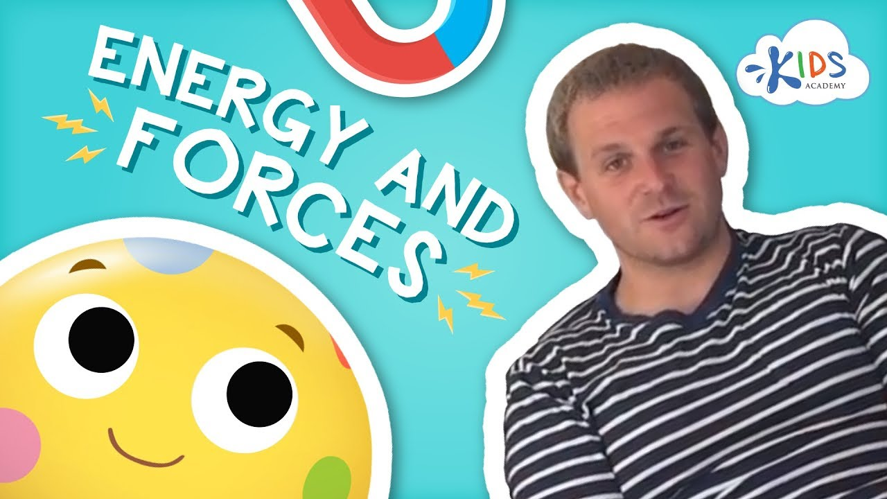 Force Work And Energy For Kids Types Of Energy Pushing And Pulling Youtube
