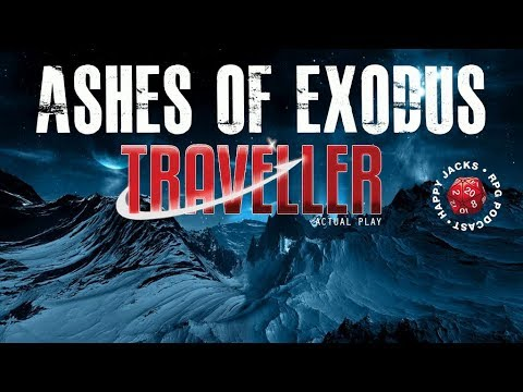 Ashes of Exodus: Mongoose Traveller 2nd Edition Actual Play Character Creation