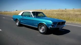 classic car reviews ccr ep1 1968 ford mustang coupe