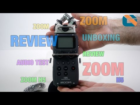 Zoom H5 Audio Recorder Unboxing - Audio Test & Review @zoomuk #ZoomH5 - Geekanoids  - YQ6CZH-hDH0 -