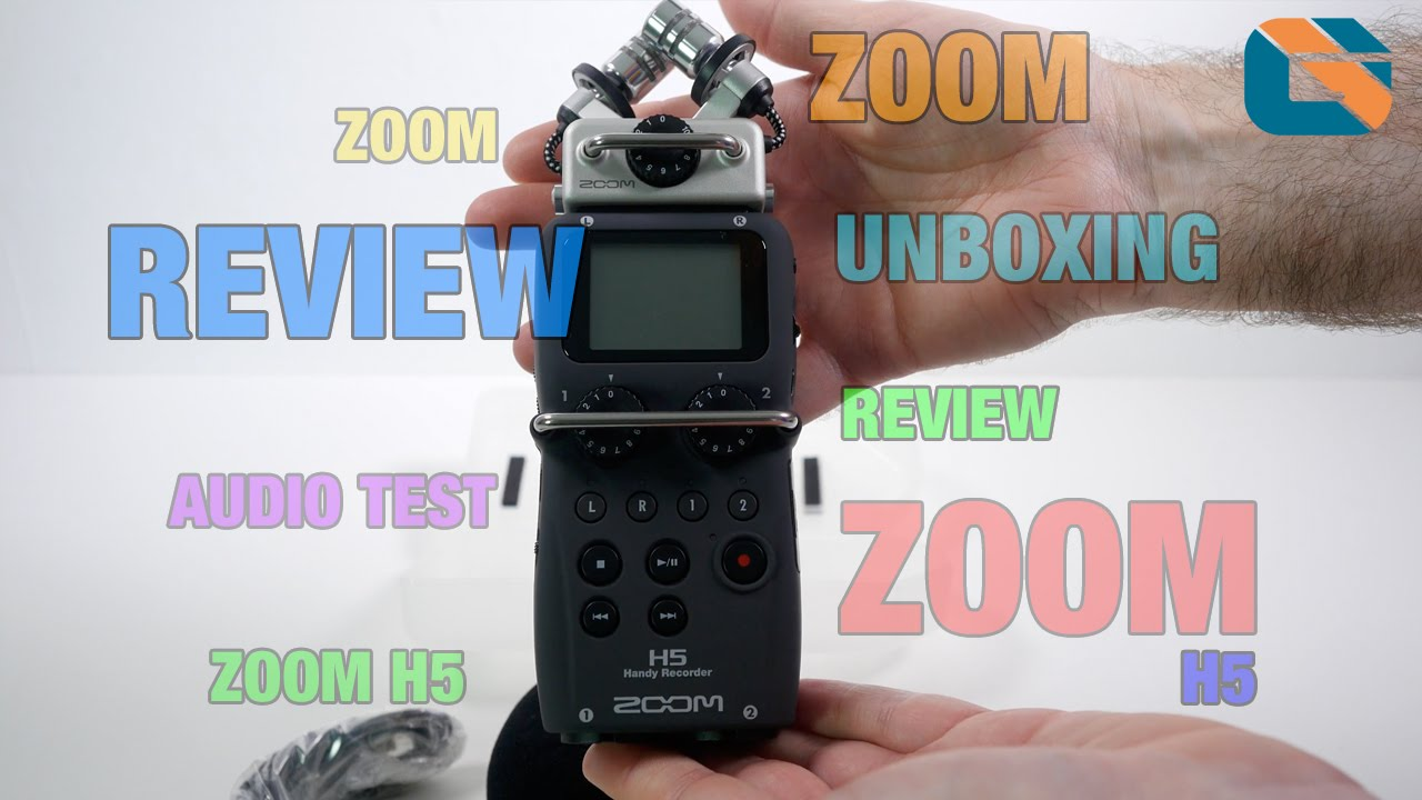 Zoom H5 Audio Recorder Unboxing - Audio Test & Review @zoomuk #ZoomH5