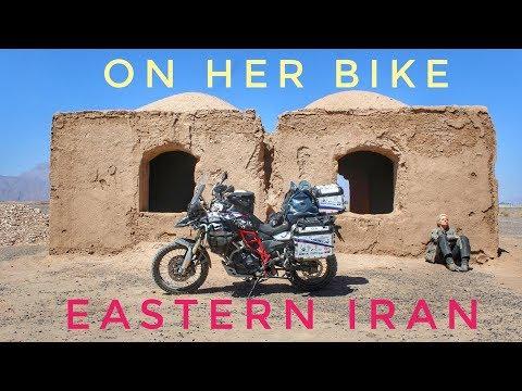 Eastern Iran. On Her Bike Around the World. Episode 10