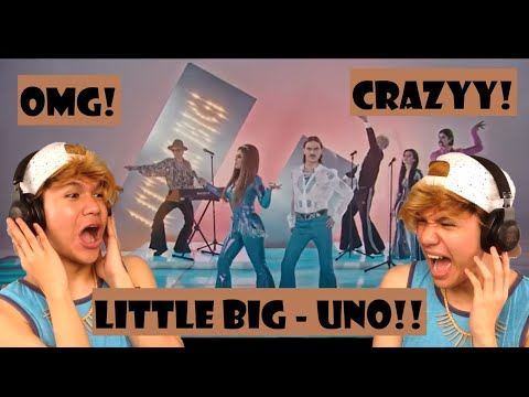 Little Big - Uno - Russia - Official Music Video - Eurovision 2020   REACTION!