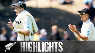 Southee 5fer Seals 100th Test Win   HIGHLIGHTS  BLACKCAPS v India   1st Test - Day 4, 2020