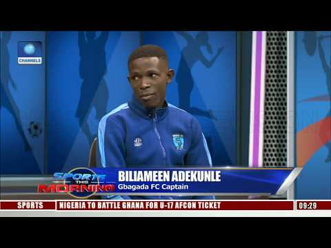 Sports This Morning Features Nigeria Nationwide League Club