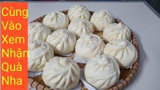 Cách Làm Bánh Bao Tại Nhà| Dumplings| Căn Bếp Tứ Huỳnh